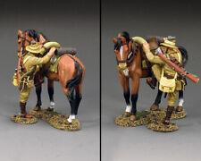 KING & COUNTRY AUSTRALIAN LIGHT HORSE AL108 AUSTRALIAN LIGHT HORSE TROOPER