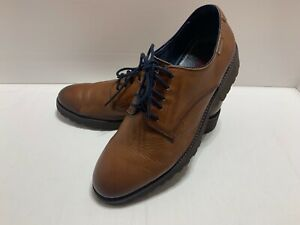 Pikolinos Lightweight Brown Leather Oxford Shoes Sz 43 Eu 10 Us