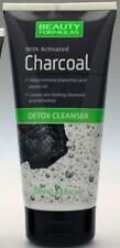 BEAUTY FORMULAS *DETOX CLEANSER* WITH ACTIVATED CHARCOAL NEW  150ml