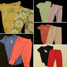 Baby Girl Size 12 months Mixed Spring & Summer Clothing Lot *bodysuits*