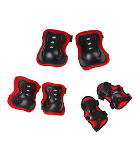 Kids Elbow Knee Wrist Pads Sports Safety Protective Gear Guard Boys Girls Adults