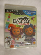 EyePet & Friends PS3 (PlayStation 3) Brand New, Sealed~