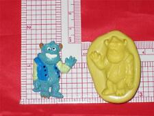 Monsters Inc Sulley Monster Silicone Mold A601 Cup Cake Topper Candy