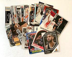San Antonio Spurs huge lot: Duncan Parker DRob Gervin Ginobili, rookies inserts