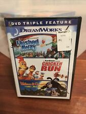 Flushed Away / Chicken Run / Wallace & Gromit Triple Feature New