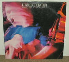 HARRY CHAPIN Greatest Stories Live, orig Elektra double vinyl LP, 1976, VG+/VG