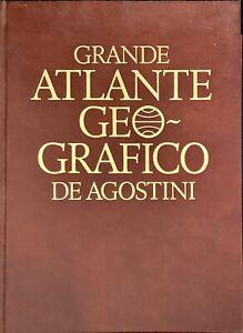 GRANDE ATLANTE GEOGRAFICO DE AGOSTINI - DE AGOSTINI 1996
