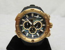 Invicta Men's 52mm BOLT Dual Cable Chronograph Abalone Dial Gold Tone 29598