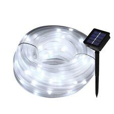 Meikee 33ft 100 LED Solar Rope Lights, Waterproof Outdoor Rope Lights, 6000K LED