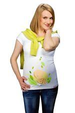(Nr.0TM-T1-XL) Gr.XL Schwangerschafts-T-Shirt Umstandsmode UMTSANDS-TSHIRT NEU