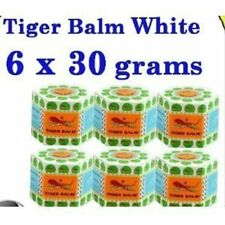 White Tiger Balm Herbal Ointment Relief Muscular Pain 30g X 6