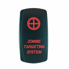 LED ZOMBIE TARGETING SWITCH Laser RED Rocker On/Off UTV TRUCK POLARIS RZR
