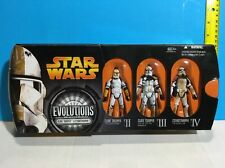 STAR WARS EVOLUTIONS CLONE TROOPER STORMTROOPER BUILDER BATTLE PACK VARIANT
