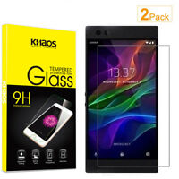 2-Pack Khaos For Razer Phone 2 Tempered Glass Screen Protector