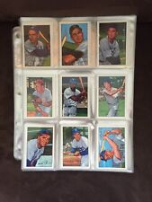 1952 BOWMAN COMPLETE REPRINT SET FROM 1987 252 Baseball CARDS