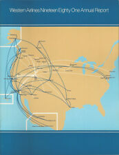 Western Airlines annual report 1981 [0095] Buy 4+ save 25%