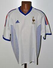 FRANCE 2002/2004 AWAY FOOTBALL SHIRT JERSEY ADIDAS SIZE XL ADULT