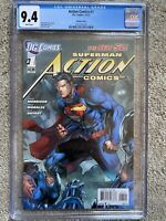 Action Comics #1 CGC Jim Lee variant