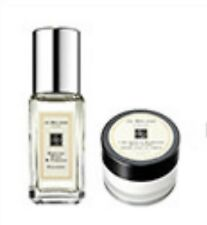 Jo Malone cologne 0.3oz/9ml ENGLISH PEAR & FRESSIA Cologne Spray + 0.5oz BODY CM
