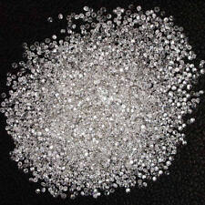 Natural Loose Diamond Round G H White Color I1-I3 Clarity 100 Pcs NQ33