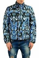 Just Cavalli Men's Multi-Color Full Zip Insulated Parka Jacket US S IT 48