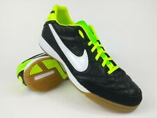 98db690b9 Nike Mens Rare Tiempo Mystic IV IC 454333-013 Black Green Soccer Shoes Size  8.5