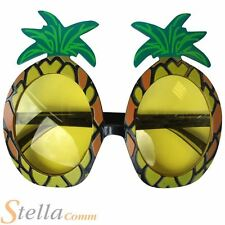 Pineapple Sunglasses Fancy Dress Sun Hawaiian Luau Party Specs Costume Accessory