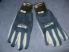TWO  PAIR OF SEATTLE SEAHAWKS SPORT UTILITY GLOVES FROM FOREVER COLLECTABLES