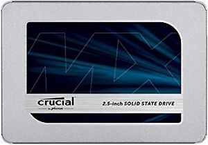 CRUCIAL SOLID STATE DRIVE SSD MX500 2,5'' 500GB  CT500MX500SSD1