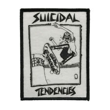 SUICIDAL TENDENCIES *Official* Lance Skater Sew Iron On Patch.
