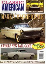 CLASSIC AMERICAN CARS Magazine. #43 Nov 1994 - Lincoln Continental, Corvair