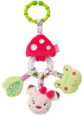 Baby Fehn Sweetheart Activity Rassel-Ring Rehkitz und Frosch