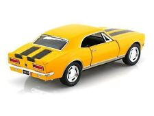 "New 5"" Kinsmart 1967 Chevrolet Camaro Z/28 diecast model chevy toy 1:37 Yellow"