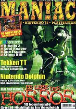 Playstation 1 MANIAC STICKER SKIN AUFKLEBER Soul Reaver inkl. Magazin 8/99