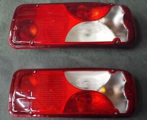 L/R Taillights 2019/19 Mercedes Benz Sprinter Cab/Chassis Truck 3500 4500 Vignal