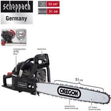 Scheppach tronçonneuse essence csp5300, 51 CM OREGON épée, 53 cm ³ motor-hubraum