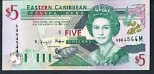Billete Del Caribe Oriental 5 P31m ND1994 UNC