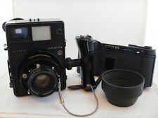 Mamiya Super 23 with SHIFTING Back + Sekor 100mm f3.5 + 6x9cm Film Back + Hood