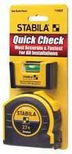 """STABILA Tape Measure 27' x 1"""" Double Sided Tape w/Pocket Pro Level CHN 11927"""