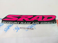 Suzuki moto GSX R 750 68131-33E10-F4S adesivo carena codino fairing sticker SRAD