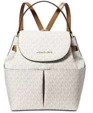 ❤️ Michael Kors Bedford Medium Convertible Vanilla/Acorn/Gold Backpack