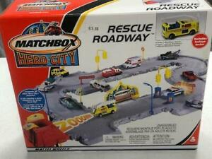 Matchbox Rescue Roadway Play Set New Seal Box