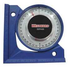 WESTWARD 30PA66 Angle Finder,90 deg.,3-1/2 in.,Blue