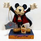 Disney Traditions JIM SHORE COUNT MICKEY Halloween Vampire Figure RARE & RETIRED