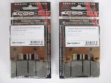 ZCOO 2 COPPIE PASTIGLIE FRENO ANTER EX C (WAVE DISC) SUZUKI GSX R 750 2008 2009