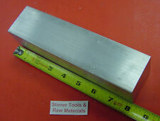 "2"" X 2"" ALUMINUM 6061 SQUARE BAR 8"" long Solid T6511 2.00"" New Flat Mill Stock"
