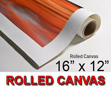 """YOUR OWN PHOTO, PICTURE, IMAGE ON TO A ROLLED CANVAS PRINT - A3 SIZE 16""""x12"""""""