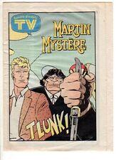 Martin Mystere allegato a TV sorrisi e canzoni