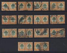 SOUTH AFRICA 1926 ORANGE TREE 6d.. SG32... 14 horizontal pairs CV£630