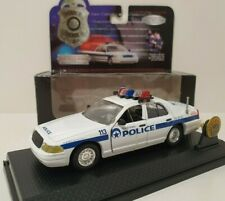 ROAD CHAMPS 1/43 Police Edition Limitée 1999 Ford Crown Victoria New Orleans